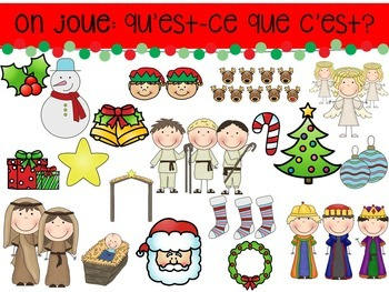 Noel Christmas Bundle Presentation, Board Game and Task Cards