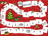 Noel Christmas French Board Game and Task Cards