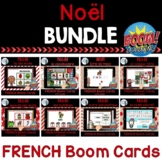 Noël:  French Christmas Themed Digital Task Cards BUNDLE - BOOM CARDS
