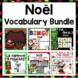 Noël: French Christmas Themed Vocabulary BUNDLE