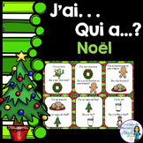 Noël:   French Christmas Vocabulary Game - J'ai. . .Qui a. . .?