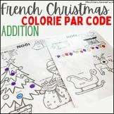 Noël - Colorie par code (Addition)