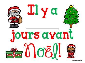 Noël - Countdown Poster