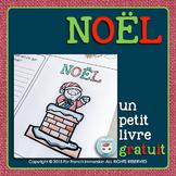 Noël français gratuit | FREE French Christmas Vocabulary | French Mini-Book
