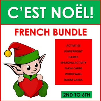 Noël: French Christmas Bundle (2nd to 6th)