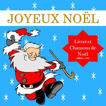 Noël French Christmas Little Book And Songs Pre K To 1st Tpt