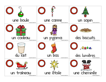 Noël - Grammaire en 3D