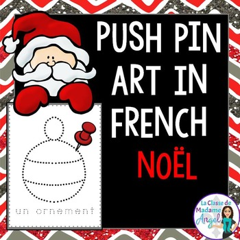 Noel (Noël):  Christmas Themed Pinning Pages in French