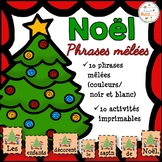 Noël - Phrases mêlées - French Christmas
