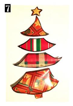 Noël: Sapin emballant ! Projet d'arts plastiques