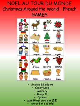 Noël au tour du monde / Christmas Around the World FRENCH Games