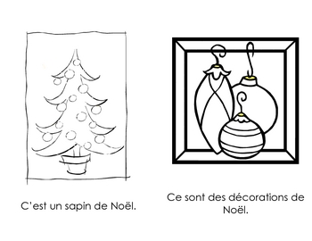Noel - beginning reader in French