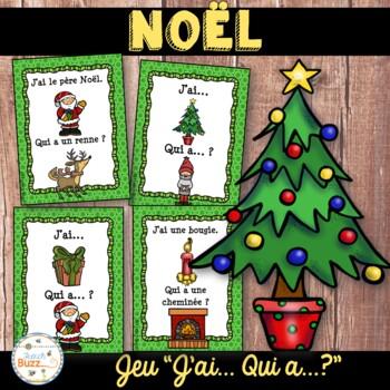 "Noël - jeu ""j'ai... qui a...?"" - French Christmas"