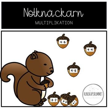 Nötknäckarn, multiplikation