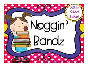 Noggin' Bandz- A Headband Game for Back to School