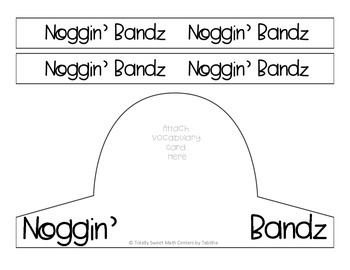 Noggin' Bandz- A Headband Game for Numbers 120