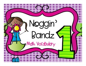 Noggin' Bandz- A Headband Vocabulary Game for First Grade