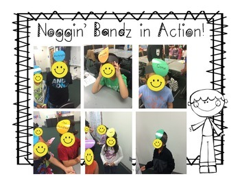 Noggin' Bandz- A Headband Vocabulary Game for Fourth Grade