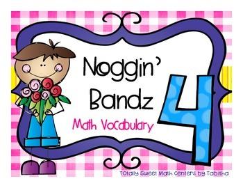 Noggin' Bandz- A Headband Vocabulary Game for Fourth Grade
