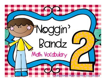 Noggin' Bandz- A Headband Vocabulary Game for Second Grade
