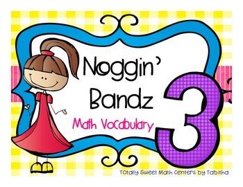 Noggin' Bandz- A Headband Vocabulary Game for Third Grade