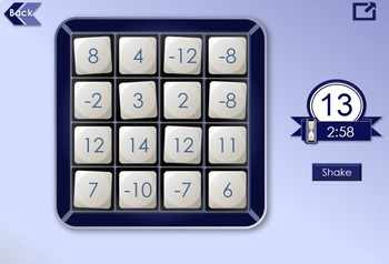 Noggle Game - Interactive Math Game