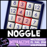 Noggle Game - Interactive Math Game - Distance Learning