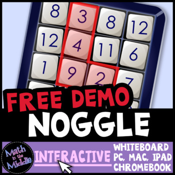 Noggle Interactive Game - FREE Review Game Demo