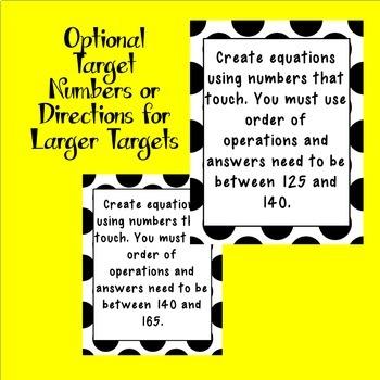 Noggle Interactive Math Boggle Mind Boggling Bulletin Board