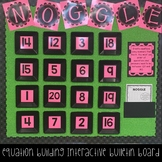Noggle Interactive Math Boggle Mind Boggling Bulletin Board
