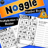 Noggle - Math Boggle - Multiplication and Division #ausbts18