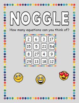 Noggle Math Game