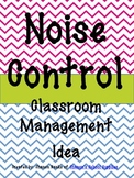 Noise Control Display for Classroom Management - Chevron