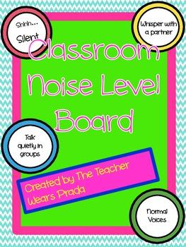 Noise Level Board
