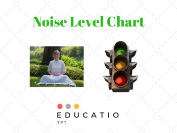 Freebie - Noise Level Chart - SAVE YOUR VOICE!