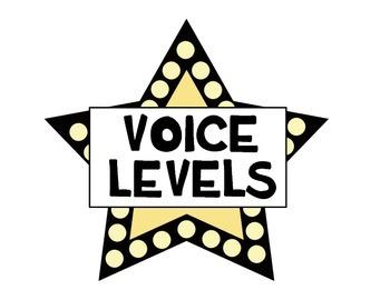 Noise Level Clip Chart - Movie Theme (Megaphones)