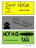 Noise Level Display Cards