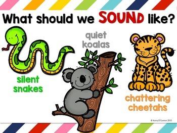 Noise Level Management System for preschool, prek, and kindergarten