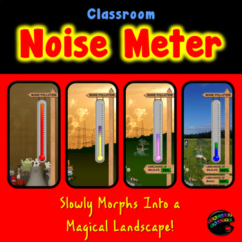 Noise Level Meter—Classroom Noise Management on a Projector!