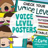 Voice Level Chart {Editable}