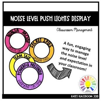 Noise Level Press Light Display