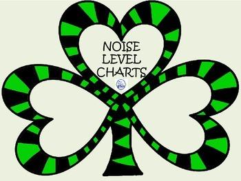Noise Level Shamrocks - A FREEBIE