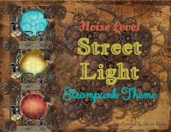 Noise Levels Street Light Steampunk Theme