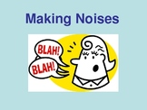 Noise Making Social Story