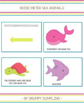 Noise Meter - Sea Animals