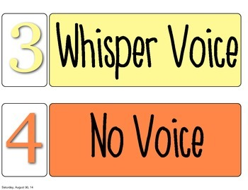 Noise Meter Voice Control Signs Visuals