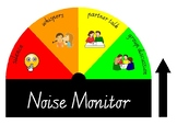 Noise Monitor Classroom Visual, Sound Volume Control