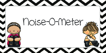 Noise-O-Meter Classroom Poster Set