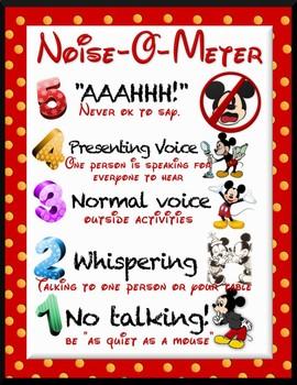 Noise-O-Meter- Disney Mickey