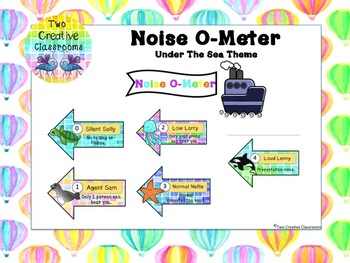 Noise O-Meter - Under the Sea Theme